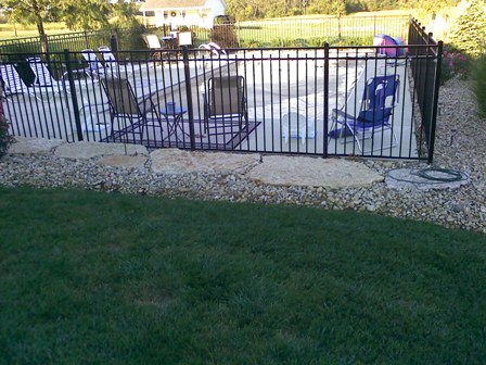 Inground Pool Fence Ideas 16 pool fence ideas for your backyard awesome gallery The Majority Of Fence That We Install Is 54 High This Allows The Fence To Meet Pool Code Requirements For Spacing Between The Vertical And Horizontal