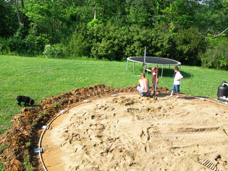above ground pool installation edwards pools inground and above ground pools in southern ohio. Black Bedroom Furniture Sets. Home Design Ideas