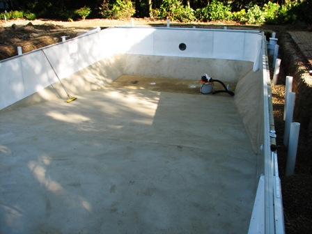 Vinyl Liner Pool Installation Edwards Pools Inground