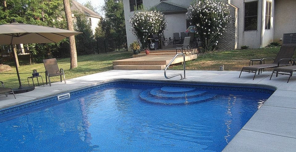 Diy Above Ground Pool Slide edwards pools - inground and above ground pools in southern ohio